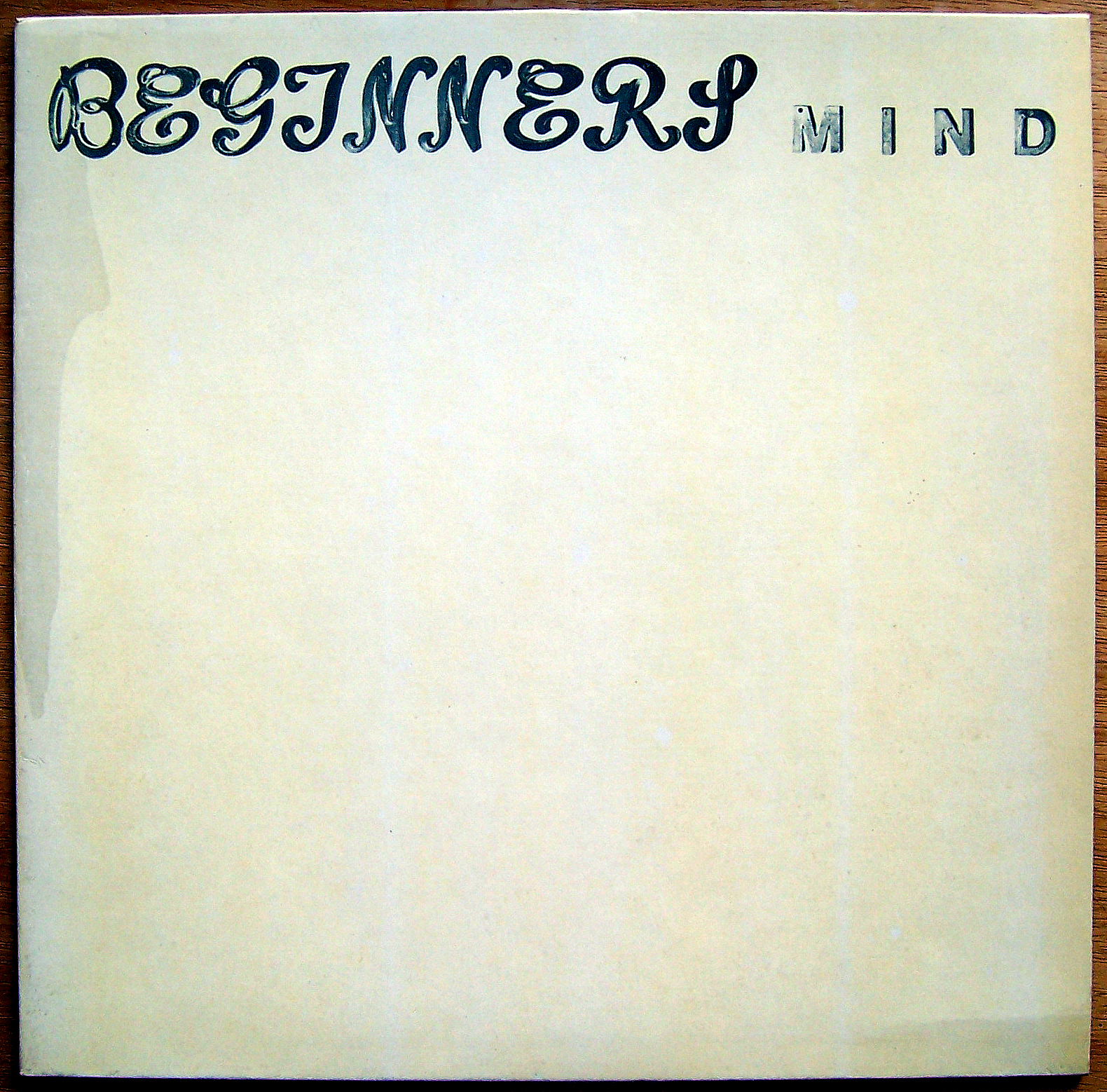 Beginner's Mind LP Cover vorne
